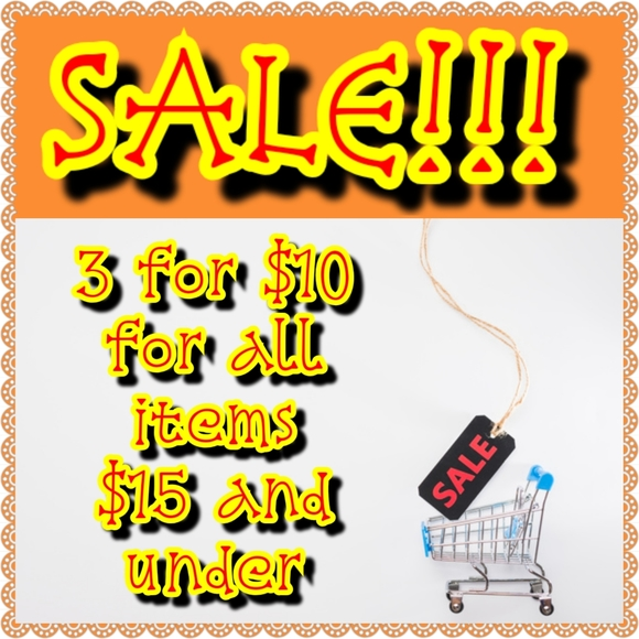 multiple Other - 3 for $10 Inventory Clear Out SALE!!!!!!!!